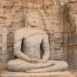 Seating Buddha — Stock Photo