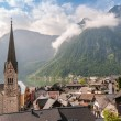 Stock Photo: Church in Hallstatt
