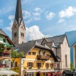 Stock Photo: Hallstatt Square