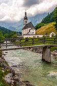 Church in Ramsau — Stock Photo