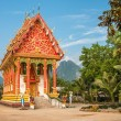 Temple in Vang Vieng — Stock Photo