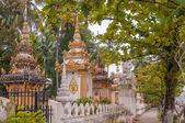 Small Stupas in Vientiane City — Stock Photo