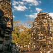 Bayon Faces — Stock Photo
