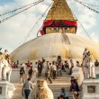 Stupa in Bodnath — Stock Photo