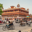 In The Streets of Jaipur — Stock Photo