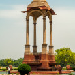 Canopy near India Gate in Delhi — Stock Photo