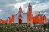教堂 huejotzingo — 图库照片