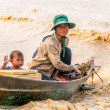 People from Tonle Sap Lake — Stock Photo