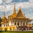 King Palace in Phnom Penh — Stock Photo