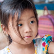 A Little Girl from Vietnam — Stock Photo