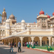 Stock Photo: Mysore Palace Complex