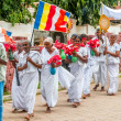 Buddhist Procession in Anuradhapura — Stock Photo #32458517
