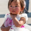 Little Girl on Tiananmen Square — Stock Photo #32568731