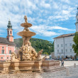Stock Photo: The Horse Fountain in Residenplatz