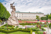 Gardens in Mirabell Palace — Stock Photo