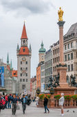 Marienplatz in Munich — Stockfoto