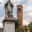 Statue of Saint Sylvester — Stock Photo #33863267