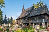 Wooden Church All Saints in Tvrdosin — Stock Photo
