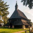 Stock Photo: Wooden Church All Saints in Tvrdosin