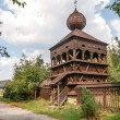 Stock Photo: Wooden Articular Belfry in Hronsek