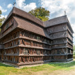 Wooden Articular Church in Hronsek — Stock Photo
