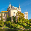 Panorama View at The Bojnice Castle — Stock Photo