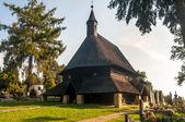 Wooden Church All Saints in Tvrdosin — Foto de Stock