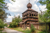 Wooden Articular Belfry in Hronsek — Stock Photo
