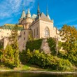 Bojnice Castle with a Moat — Stock Photo #34352465