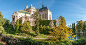 Historic Castle Bojnice — Stock Photo