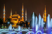 Sultan Ahmed Mosque (Blue Mosque) — 图库照片