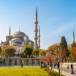 Sultan Ahmed Mosque (Blue Mosque) — Stock Photo