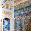 Colorful tiles of harem — Stock Photo