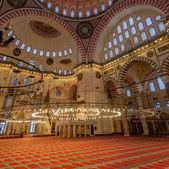 Inside of Suleymaniye Mosque — ストック写真