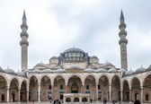 Courtyard of Suleymaniye Mosque — Stock Photo