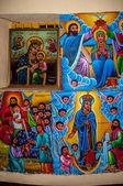 Painting in Kibran Gabriel Church — Stock Photo