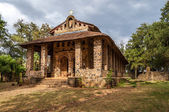 Debre Birhan Selassie Church in Gondar — Stock Photo