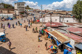 View at the streets of Harar city — Stock Photo