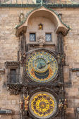 прага астрономические часы — Стоковое фото