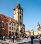 Staroměstské náměstí v Praze — Stock fotografie