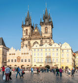 Church of Our Lady before Tyn in Prague — Stockfoto