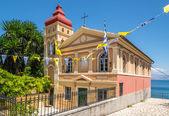 La iglesia de la virgen maría mandrakina — Foto de Stock