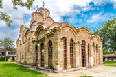 Gracanica - Serbian Orthodox monastery — Stock Photo