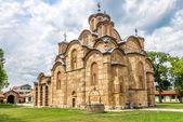 Gracanica - Serbian Orthodox monastery — Foto de Stock