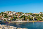 Ulcinj is the southernmost town in Montenegro — Stock Photo