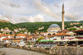 View at the Sinan Pasha mosque in Prizren — Stock Photo