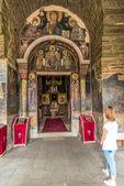 Gracanica è un monastero ortodosso serbo situato in kosovo. — Foto Stock