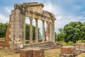 Temple ruins in Apollonia. — Stock Photo