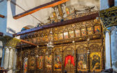Onufri Iconostasis in Berat — Stock Photo