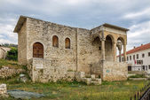 The Palace of the Pasha from Berat — Stock Photo